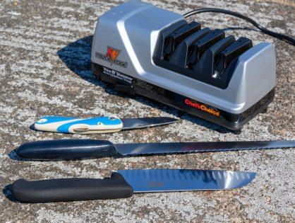 Kun tylsä veitsi ei ole vaihtoehto – Chef's Choice Trizor XV