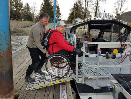 Kanada on erityisryhmäkalastajan kultamaa