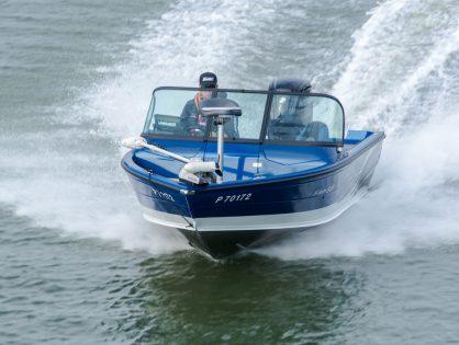 Kalastusvene hyvistä aineksista – North Silver 545 Fish