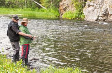 Kalastus rauhoittaa