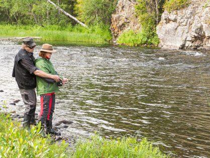 Ala kalastaa, se rauhoittaa