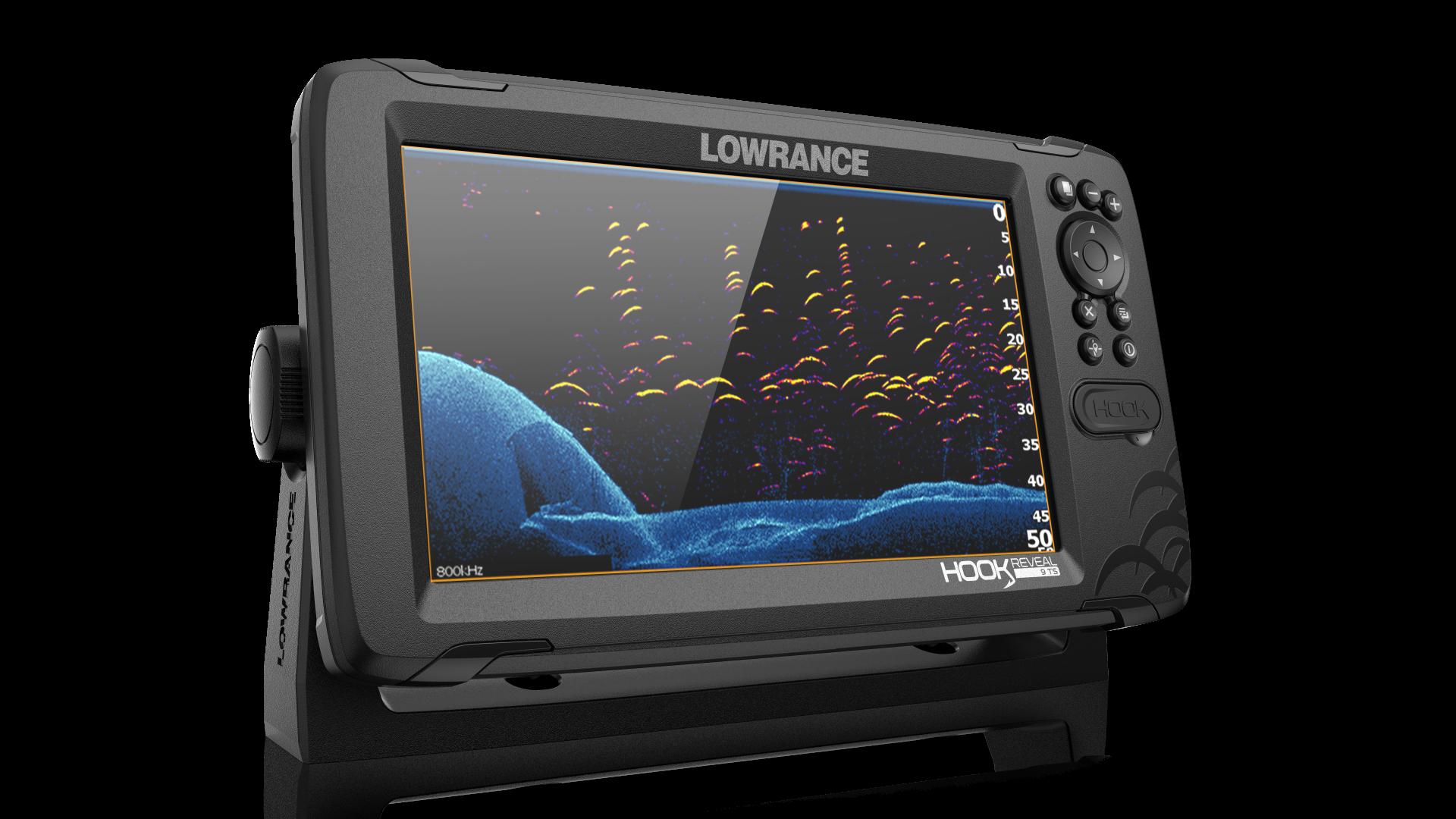 Parannettu oikeista paikoista  –Lowrance Hook Reveal