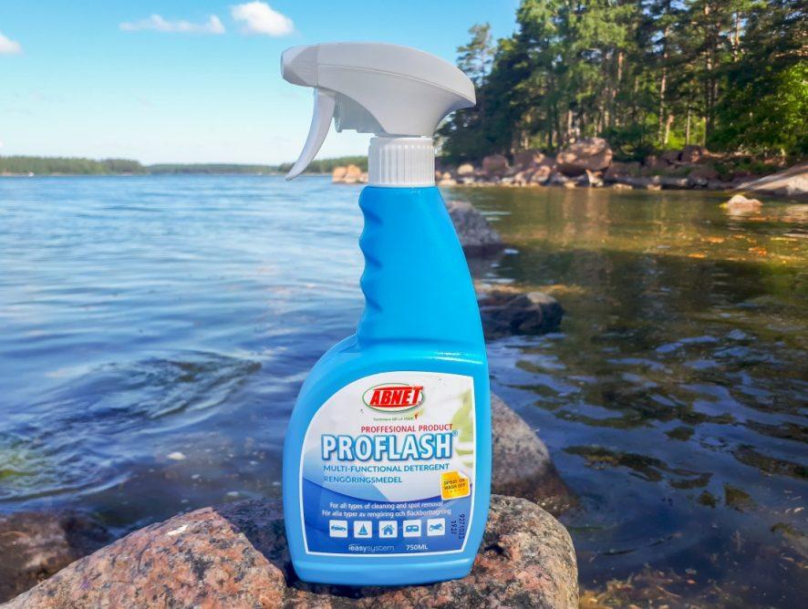 Maritim venevarustevinkit 2/2020 – ABNET Proflash -puhdistusaine