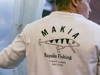 Rapalaa uusissa kuoseissa – Rapala by Makia -vaatemallisto myyntiin 30.10.2020