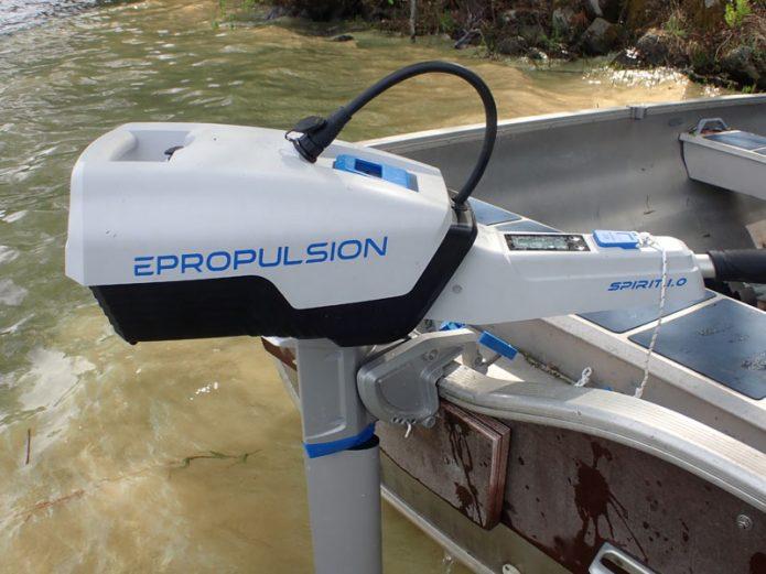 Epropulsion Spirit 1.0 –sähköperämoottori pienveneisiin