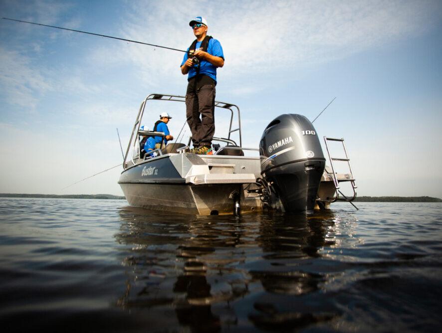 Yamaha-kuskeille ensi kaudelle oma kalastuskilpailu Yamaha Power Pay Finland
